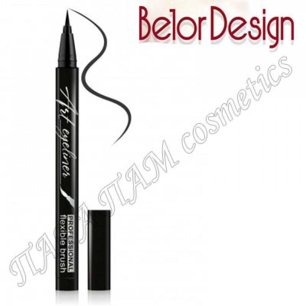 Belor Design Art eyeliner черная