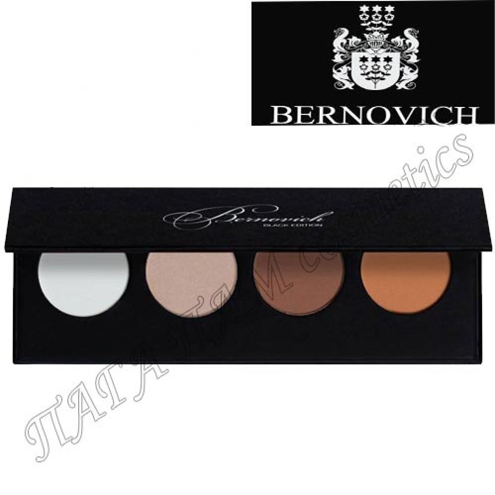 Палетка для контуринга Bernovich Black Edition