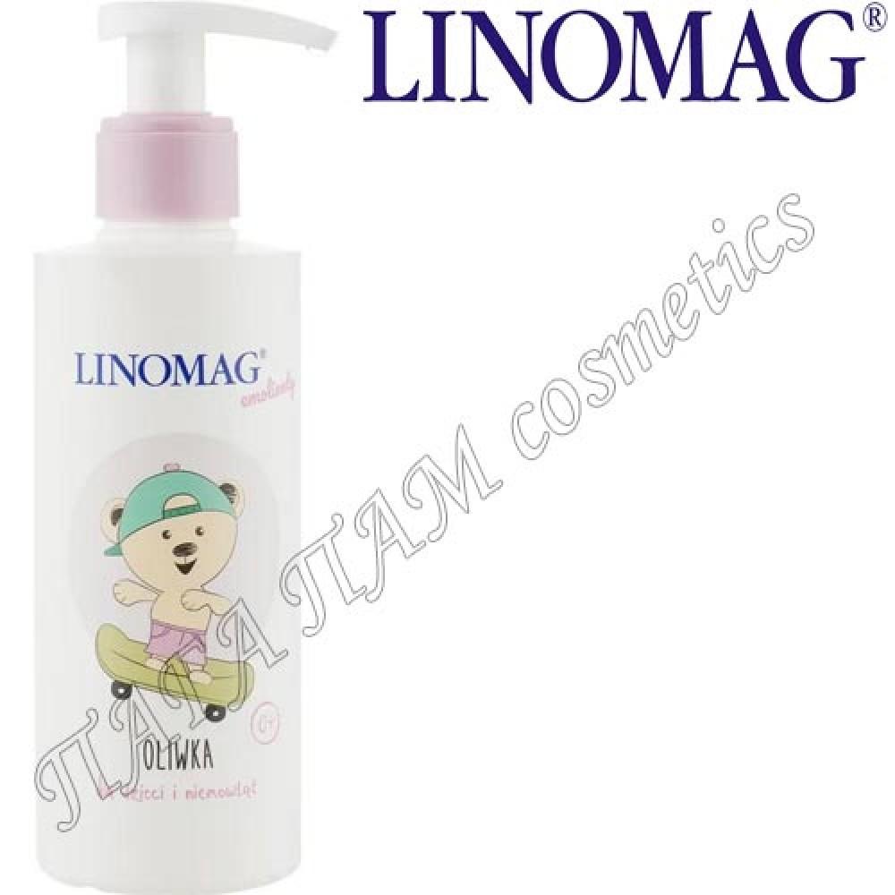 Антибактериальное жидкое мыло с аромат зеленого яблока Linomag