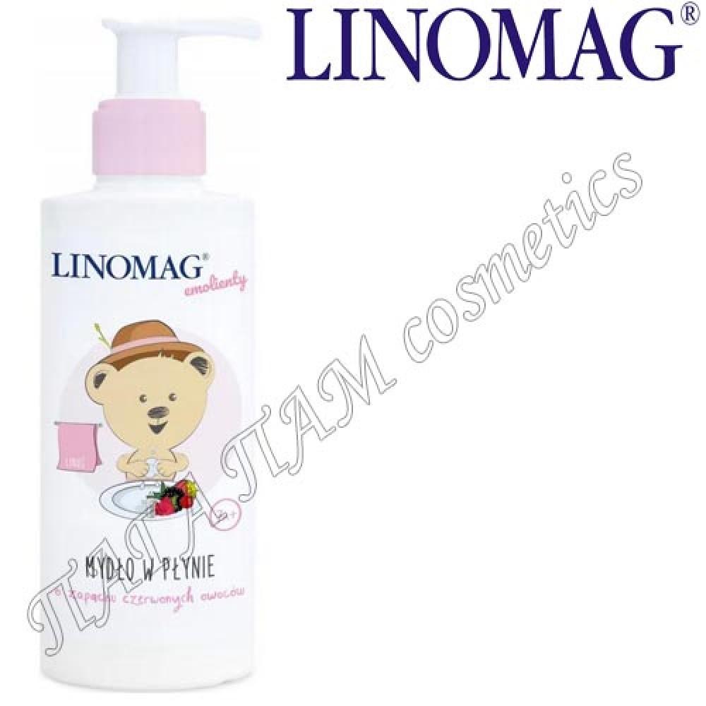 Жидкое мыло с ароматом красных фруктов Linomag