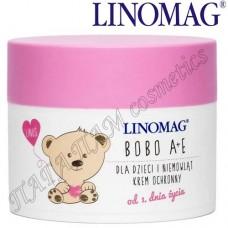 Защитный крем детский Linomag Bobo A+E