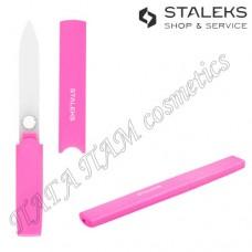 Пилочка для ногтей стеклянная в футляре STALEKS BEAUTY & CARE FBC-13-128