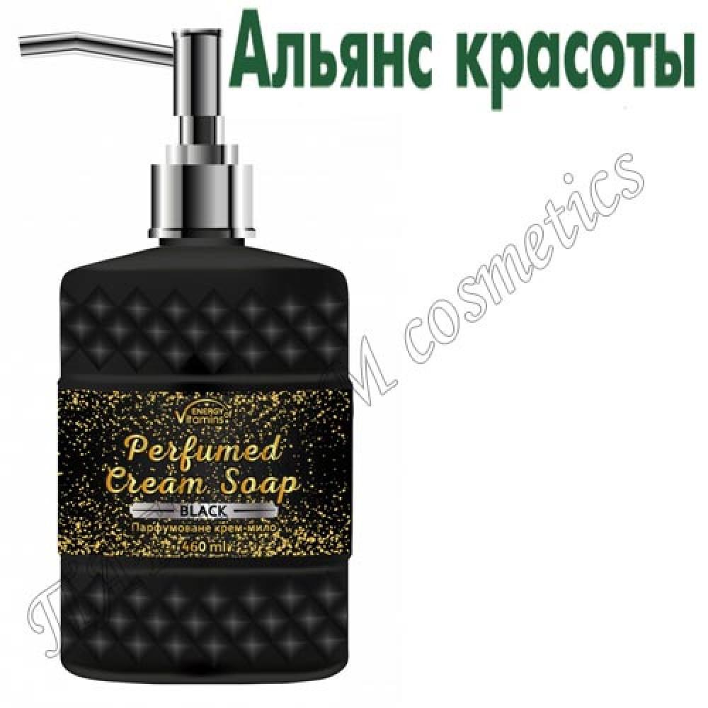 Парфюмированное крем-мыло Energy of Vitamins Perfumed Black