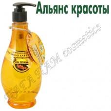 Антибактериальное крем-мыло для рук и тела с облепихой и ромашкой