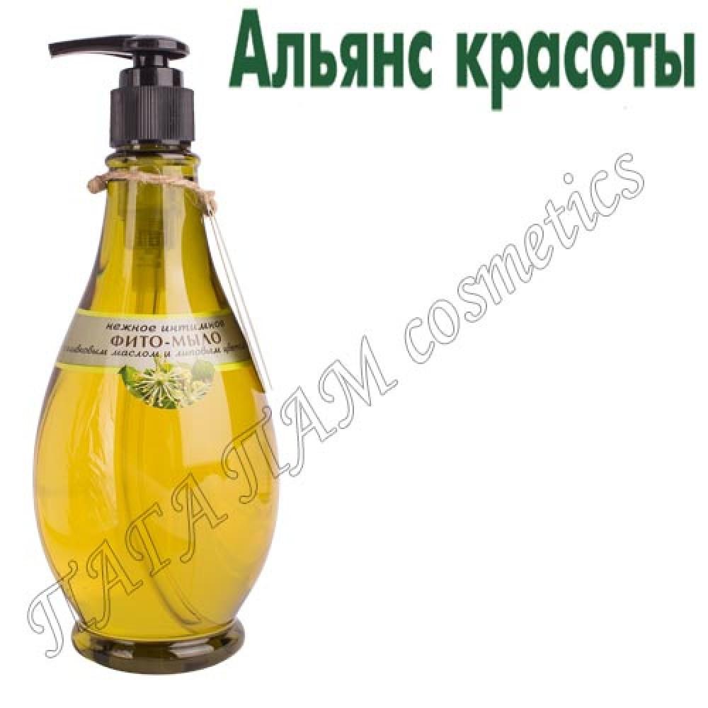 НЕЖНОЕ ИНТИМНОЕ ФИТО-МЫЛО с оливковым маслом и липовым цветом