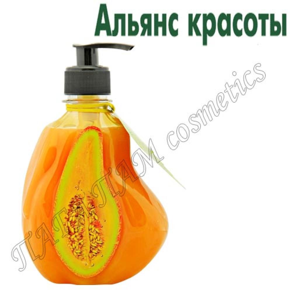 Крем-мыло питательное с дыней