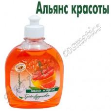 Мыло жидкое «Грейпфрутовое» с глицерином
