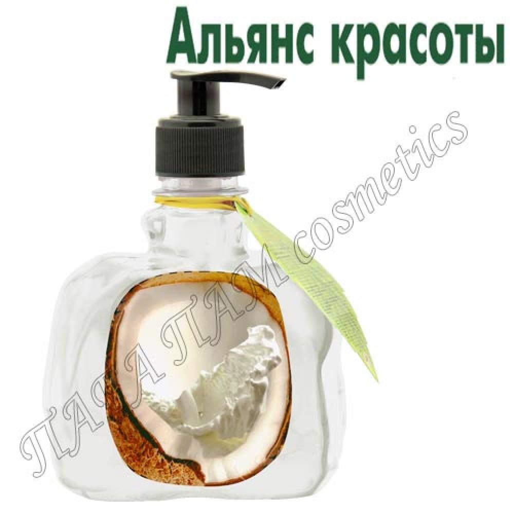 Крем-мыло с экстрактом кокоса