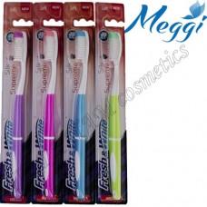Зубная щетка мягкая Meggi Fresh & White Silk Supreme