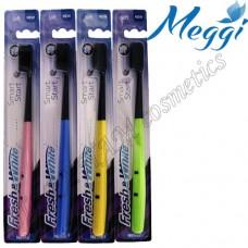 Зубная щетка мягкая силиконовая Meggi Fresh&White Smart Start
