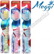 Зубная щетка мягкая Fresh&White Twist
