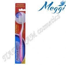 Зубная щетка средней жесткости Meggi Fresh&White Extra Comfort