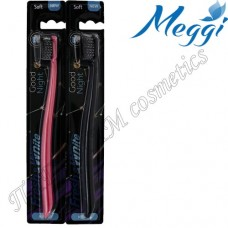 Зубная щетка для чувствительных десен, мягкая Meggi Fresh&White Good Night