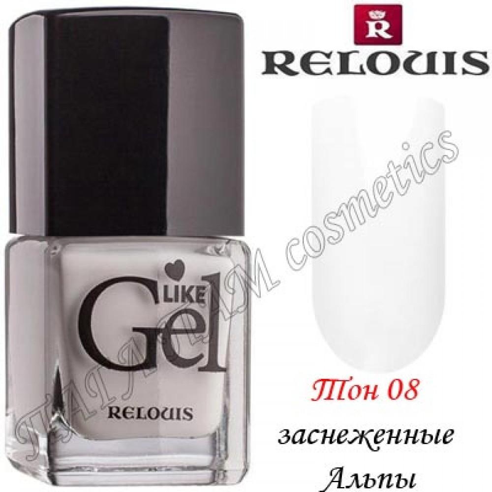 Relouis Like Gel с ГЕЛЕВЫМ ЭФФЕКТОМ