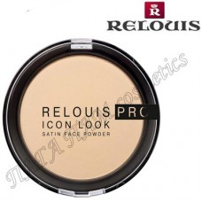 Пудра компактная RELOUIS PRO ICON LOOK satin face powder