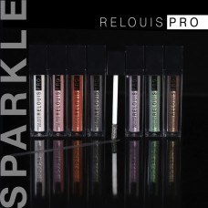 Тени для век RELOUIS PRO Sparkle Liquid Eyeshadow