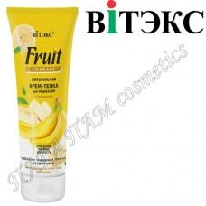Питательная крем-пенка для умывания с бананом