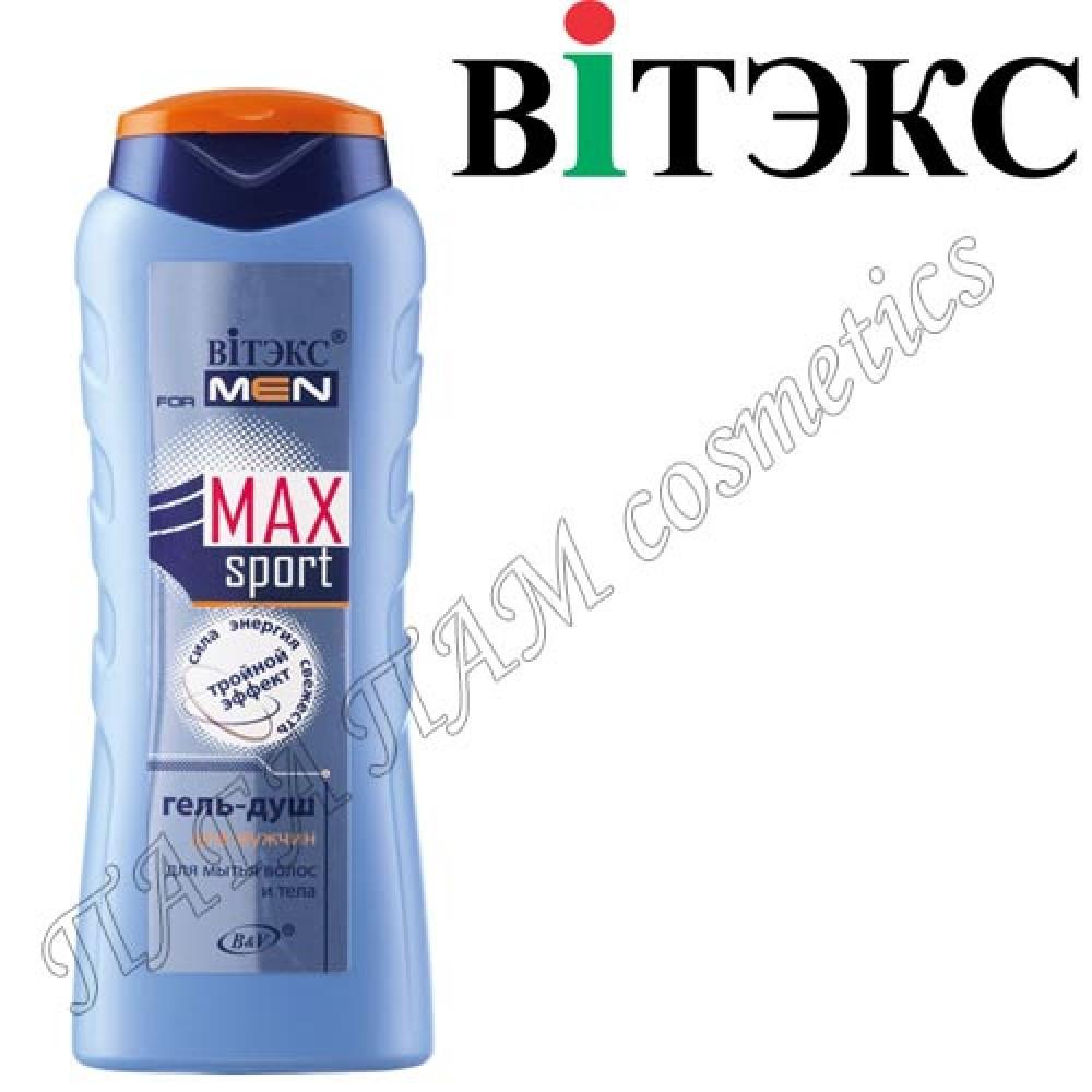 Гель-душ MAXsport для мытья волос и тела для мужчин